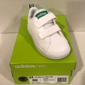 adidas VS Advantage Clean CMF Infants Velcro Shoes
